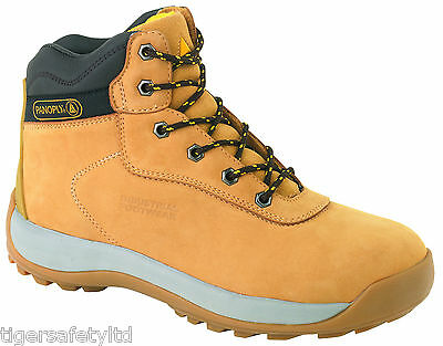 Delta Plus Panoply LH840SM LH842SM Trabajo Zapatos Botas De Seguridad De Cuero Puntera De Acero