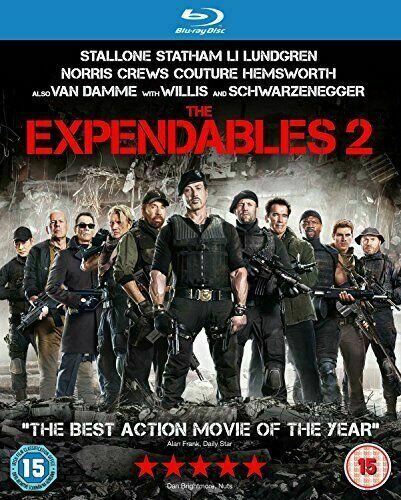 The Expendables 2 2012 Action Sequel Uk Blu Ray Dvd Steelbook For Sale Online Ebay