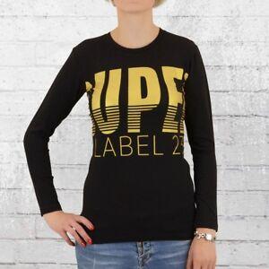maniche Super donna da Shirt da Tshirt donna in Bronze T a 23 a Label nero maniche bronzo lunghe lunghe qw7x5Tnz