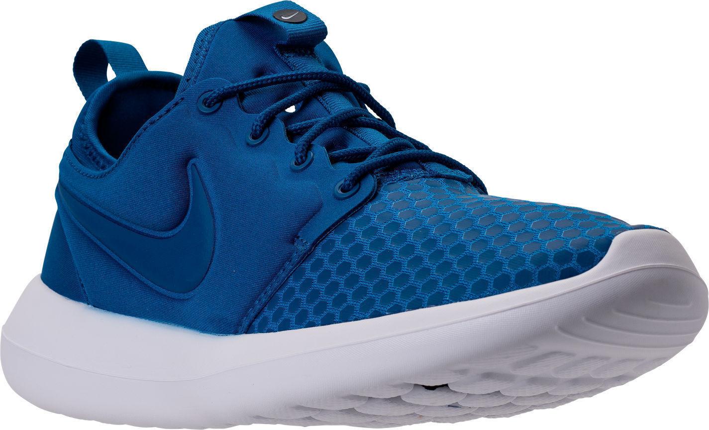 Nike roshe zwei se männer laufschuhe, blau - weiße 918245 400 größe 10 - 13.