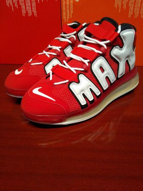 mayor selección de 2019 artesanía exquisita diseño de variedad Nike Air More Uptempo 720 QS 2 Men's 8 Univ Red Basketball Shoes ...
