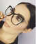 FEARLESS-Women-Eyeglasses-CAT-EYE-Clear-Lens-Shadz-Metal-ARMS-GAFAS-Oversized thumbnail 7