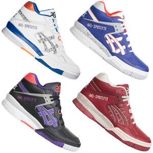 dc3fd30a70e248 Das Bild wird geladen ASICS-Gel-Spotlyte-Herren-Mid-Sneaker-H419L-H447L-