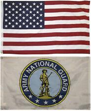 3x5 Wholesale Combo USA American /& U.S Navy Seals Black Flag 3/'x5/' 2 Pack