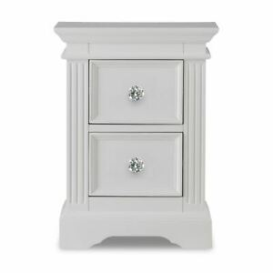 Gainsborough White Bedside Table