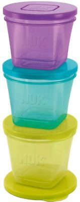 Annabel Karmel By Nuk 6 Baby Food Stackable Pots/containers Feeding Storage Bn Rich In Poetic And Pictorial Splendor Other Baby Dishes