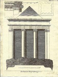 Antique-engraving-Zachariae-Begrabnis-P-VII
