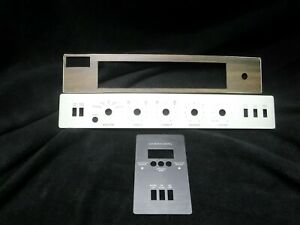 Fisher-450-T-Solid-State-Receiver-Face-Panel-Insert-Set-ALL-3-NOS-Original