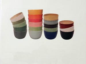 SCHUSSEL-Salatschale-Bambus-Servierschuessel-Obstschale-22x14-cm-Handarbeit