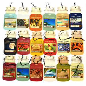9-Official-Yankee-Candle-Assorted-Car-Jar-Hanging-Air-Freshener-Different-Scents