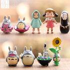 9x My Neighbor Totoro Movie Character Cake Ornament Miniature Kid Toy  Gift