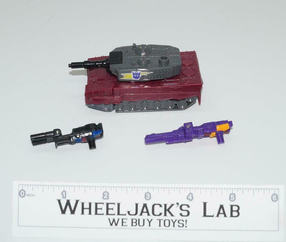 Quake MINT 100% Complete 1988 Vintage Hasbro G1 Transformers Action Figure