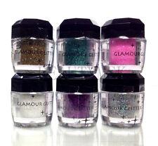 6pcs Beauty Treats Glamour Glitter Eye Body Nail Universal Use Loose Pigment Set