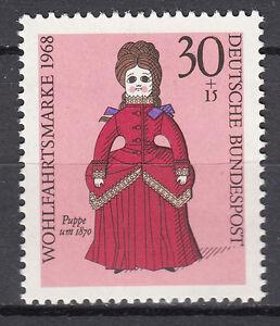 Mon ChéRi Rfa 1968 Mi Nº 573 Cachet Luxe!!!-afficher Le Titre D'origine