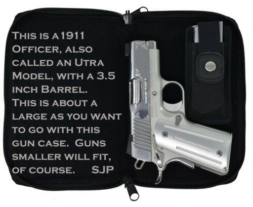 Garrison Grip Leather CCW Day Planner Gun Case Glock 42 43 26 27 33 39 Ruger LCR