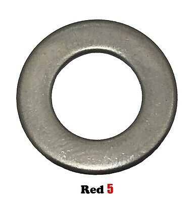12mm M12 24.0mm x 1.5mm Flat Standard Washer - Stainless Steel G316