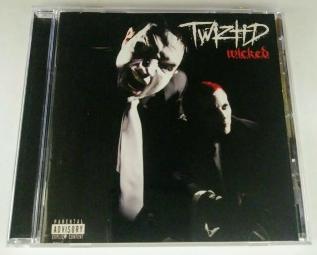 Twiztid - Wicked CD insane clown posse w.i.c.k.e.d. dark lotus blaze tech n9ne