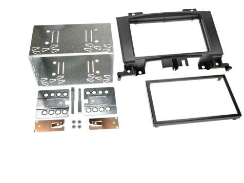 VW Crafter ab 06 2-DIN Autoradio Einbauset Adapter Kabel Radioblende