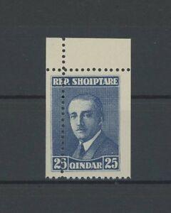 L'albanie Albania Corindon Piquage à Cheval Error Variety Perforation!!! H2260-afficher Le Titre D'origine
