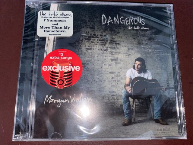 Morgan Wallen - Target Exclusive Double CD (with 2 extra songs) - SEALED!