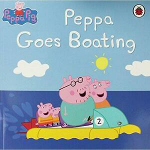 Peppa-Pig-Peppa-Goes-Boating-by-Mandy-archer-Acceptable-Used-Book-Paperback