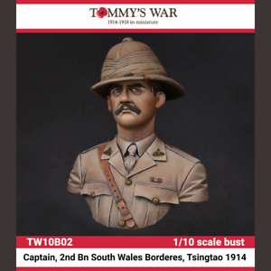 Figurine En Kit    Tw10b02 - Tommy's War  captain 2nd Bn South Wales Borderes