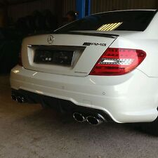 Mercedes Benz Sportauspuff C-KLASSE W204 C63 AMG LOOK Exhaust Duplex