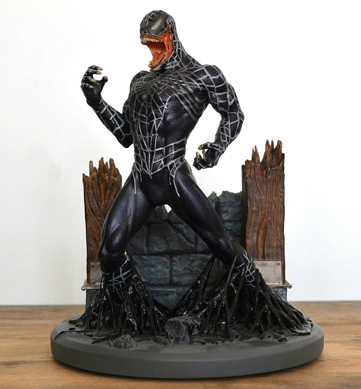 Hot  Spiderman 3 Venom Statue Diamond Select 9  Figure numérougeé édition limitée