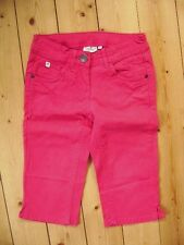 @ Tom Tailor @ schöne Caprijeans pink mit verstellbarer Taille Gr. 140 Size S