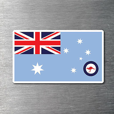 RAAF Airforce Ensign Flag sticker quality water & fade proof 7 year vinyl