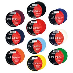 Precision-Football-Match-Regulation-Sock-Tape-33m-Rolls-Shin-Pad-Tape