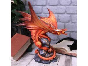 Anne-Stokes-Dragon-figurine-of-Fire-Dragon