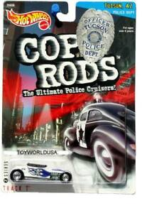"""2000 Hot Wheels /""""Cop Rods/"""" Series 2 Scorchin/' Scooter Ships World Wide"""
