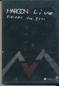 Maroon-5-Live-Friday-The-13th-DVD-NEW