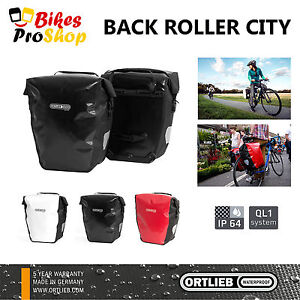 NEW-2018-ORTLIEB-Back-Roller-CITY-Pair-Bike-Pannier-QL1-100-IP64-WATERPROOF