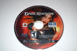 Untold Legends Dark Kingdom Playstation 3 PS3 Video Game Disc Only