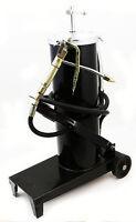 High Volume Oil Grease Manual Foot Feet Bucket Pump W Hose Gun 3625psi Chamber