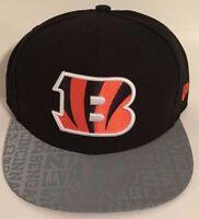 Authentic NFL Cincinnati Bengals Reflective Men Hat New Era 59Fifty Fitted Cap