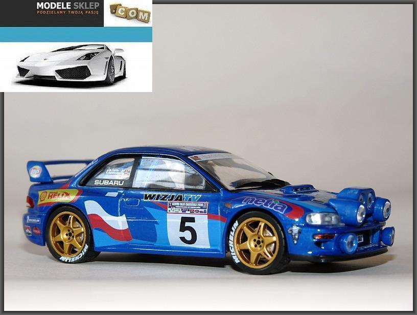 Hołowczyc Subaru Impreza WRC Rally Barbórka  2000 1 43  à la mode