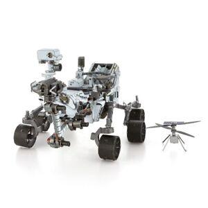 FASCINATIONS METAL EARTH MARS Rover perseveranza ingegno Elicottero Modello Kit