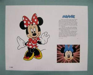 Disney-11-034-x-14-034-Minnie-Mouse-Lithograph-Print-by-OSP-Publishing
