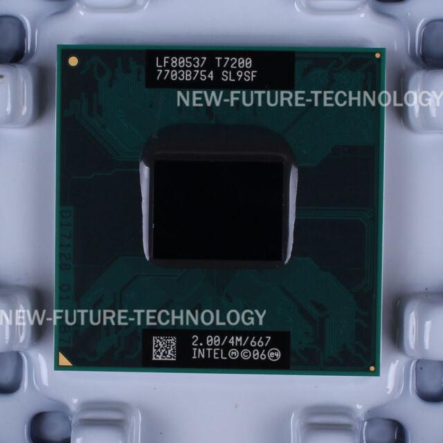 Intel Core 2 Duo T7200 (LF80537GF0414M) SL9SF CPU 667/2 GHz 100% Work