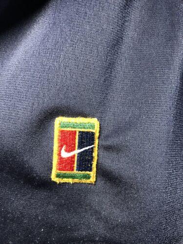 Nike chaqueta Wimbledon Xl completa cremallera Sz Hombre deportiva Chaqueta Polo Vintage con Championships dAgd6