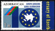AZERBAIJAN 2011 EUROPA: Council of Europe Membership. Flags, MNH