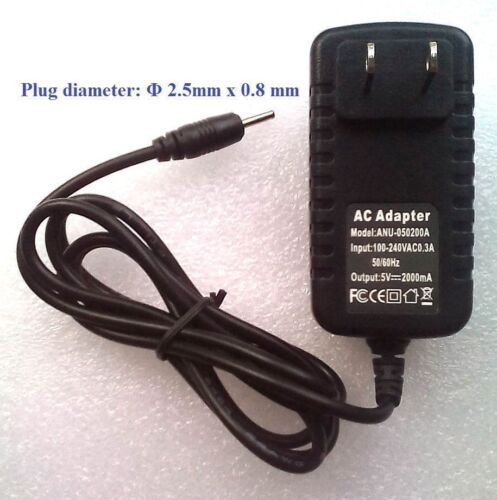 2X Charger 5V Adaptor for RCA VOYAGER III RCT6973W43 Voyager 7 RCT6873W42 Tablet