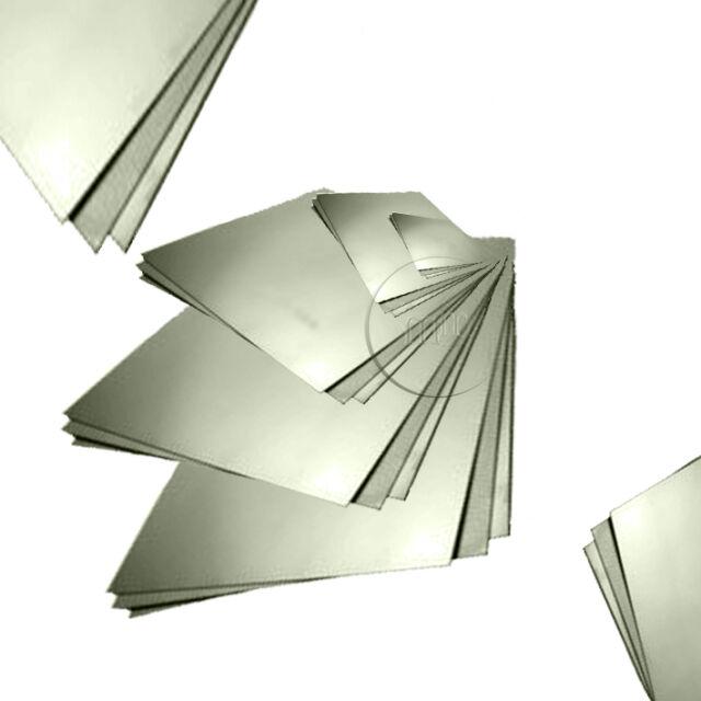 SPECIAL CUSTOMER ORDER Aluminium Sheet Plate 1mm Guillotine Cut Choose a Size