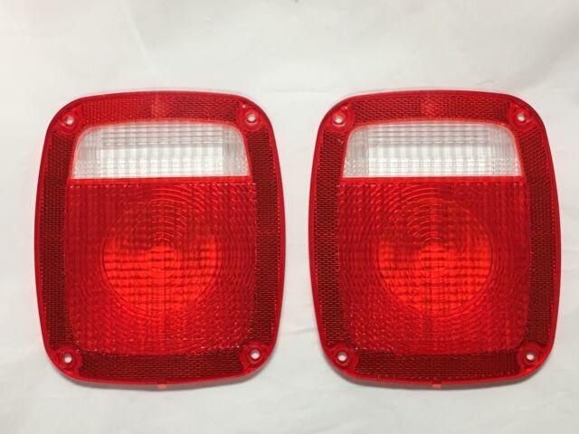 1977-87 Chevrolet GMC C10 K10 Short Bed Stepside Truck Tail light Lamp Lens