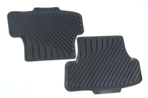 8V Original Audi A3 Gummifußmatten-Satz für hinten in schwarz 8V0061511 041