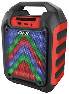 QFX PBX-4 4-inch Rechargeable Party Speaker Bluetooth