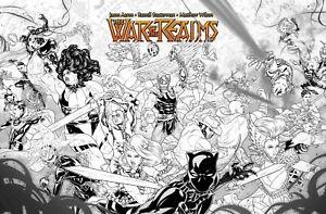 War-of-the-Realms-1-Dauterman-concept-1-10-Variant-Marvel-Comic-1st-Print-NM